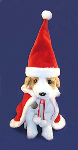 2-Piece Christmas Santa Claus Suit For Pet Dog Or Cat Size Large #EX11439