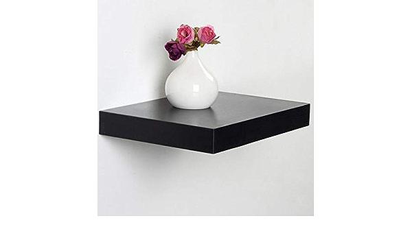 YUEQISONG - Estante de Pared (30 cm, 30 x 20 x 4 cm), Negro ...
