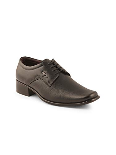 ID Men's Leather Formal Shoes (Black)