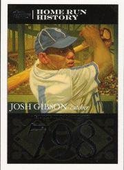 2007 Topps Gibson Home Run History Baseball Card #JG107 Josh -