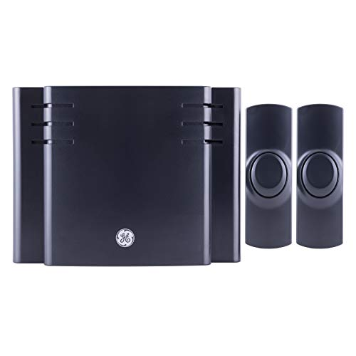 GE Black Wireless Doorbell