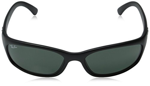 871c49823a Amazon.com  Ray-Ban Sunglasses - RB4115   Frame  Matte Black Lens  Grey  Green  Ray-Ban  Clothing