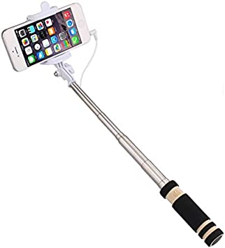 Mini Selfie Stick para Alcatel Pixi 4 (6) 4G Palo Android iOS ...