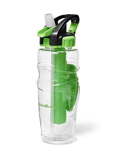 Eddie Bauer Unisex-Adult 32-Oz. Freezer Water Bottle, Vibrant Green Regular ONE -  0223464323