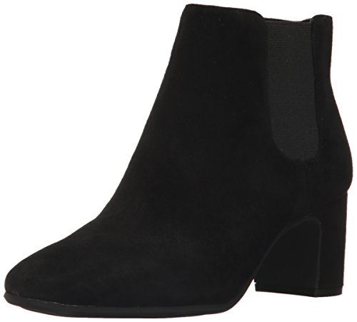 Suede Ankle Women's Boot Gorgia Black Anne Klein fxzqOwnCp