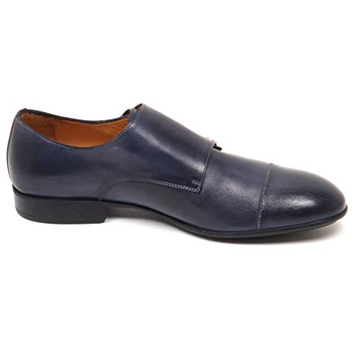 Blu Caracciolo Shoe Scarpa Vintage Scarpe 1971 E8792 Man Effect Uomo qntxAnZ1