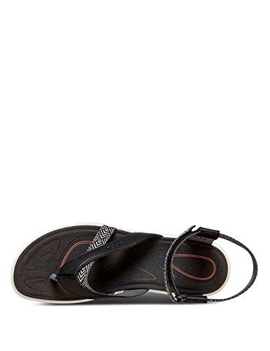 De Sintético Interior Zapatillas Deporte Negros Mujer Color 841673 Ecco pwBqff