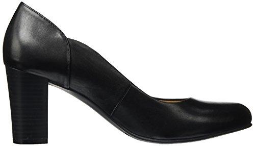 Donna Con 22404 Nero Tacco Nappa Scarpe Caprice black 1zHwqSIWxW