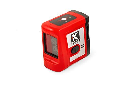 ElephantNum Kapro Portable 65 Feet Self-Leveling Cross-Line Laser with Red Beam (Kapro Laser Level)