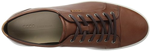 7 Tie Soft Perforated ECCO Mahogany Sneaker Men Fashion vBRqvH