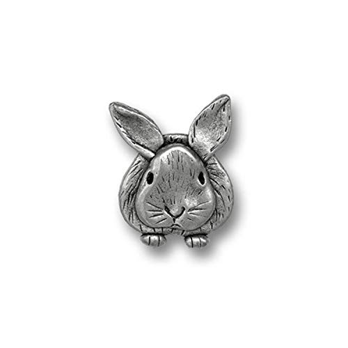 The Magic Zoo Pewter Rabbit Lapel ()
