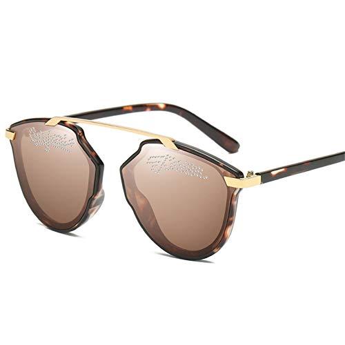 del m americanas gafas el tendencia ojo sol diamante 140 forman marco de gafas del y 51m 138 europeas NIFG de sol Las de B wP4qBzSz