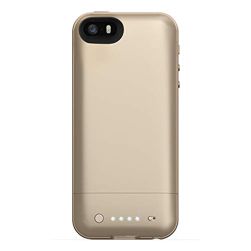 mophie juice pack Air for iPhone 5/5s/5se (1,700mAh) - Gold (Renewed)