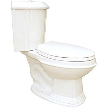Bone China Elongated Space Saving Corner Toilet Two Piece
