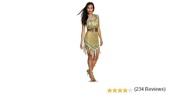 Disney Pocahontas Prestige Adult Costume X-Large 18-20: Amazon.es ...