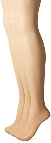 Panty Pantyhose - L'eggs Women's Energy 3 Pack Control Top Sheer Toe Panty Hose, Nude, Q
