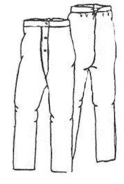 [Men's drawers (Size- Medium 40-44)] (Victorian Era Mens Costumes)