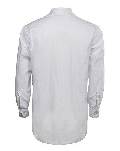 Uomo Scozzese Bianco Nello Camicia Servitori Scozzesi Classic Dei Cusfull Stile Da Giacobiti w5RI6BOSqx