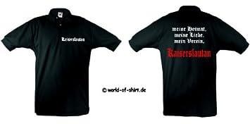 1860 Herren Polo-Retro Supporters Ultras world-of-shirt