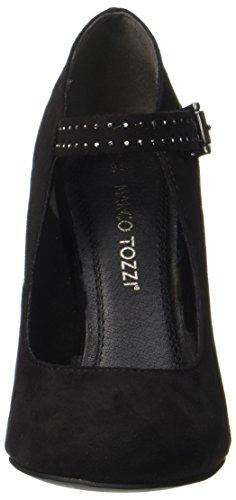Pumps Tozzi Toe Black WoMen Black 001 24403 Marco Closed xXAdUHUn