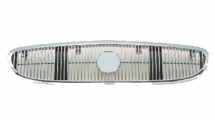 Buick Century 97-02 Front Grille Car Chrome & Black w/o SE New