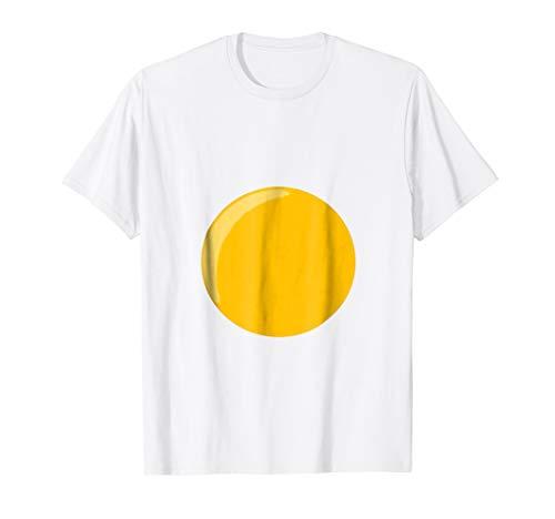 Mens Deviled Egg Fried Egg Funny Halloween Costume T-shirt 2XL White