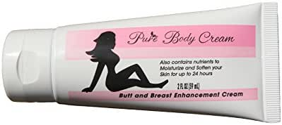 PureBody Cream   Butt and Breast Cream - The #1 and Only Butt and Breast Growth Formula Cream - Plus All-Natural Moisturizer for Soft, Silky, Smooth Skin (30 Day Supply)