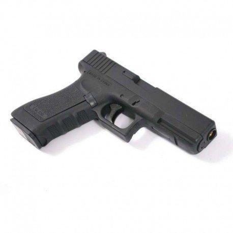 CYMA Airsoft G18 Pistolet Electrique Automatique Cm030 (0.5 Joule) Noir Culasse Métal 2