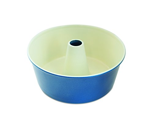 Nordic Ware 50919AMZ 12-Cup Angel Food Cake Pan, Navy ()
