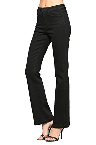 - Vervet Jeans By Flying Monkey High Rise Flare (25, Black)