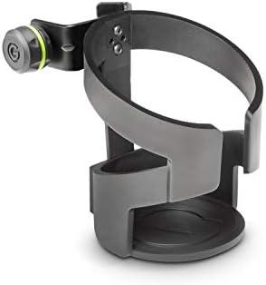 Gravity GMADRINKM Getränkehalter für Mikrofonstative Schwarz
