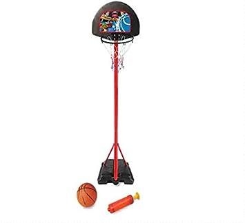 Devessport Canasta Baloncesto Infantil - Incluye Pelota, inflador y Red