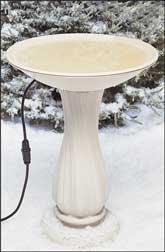 API 600 20-Inch Diameter Heated Bird Bath Bowl (no stand) Allied Bowl
