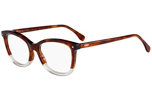Fendi FF0234 Eyeglasses 52-18-140 Havana Pink w/Demo Clear Lens 0T4 FF 0234