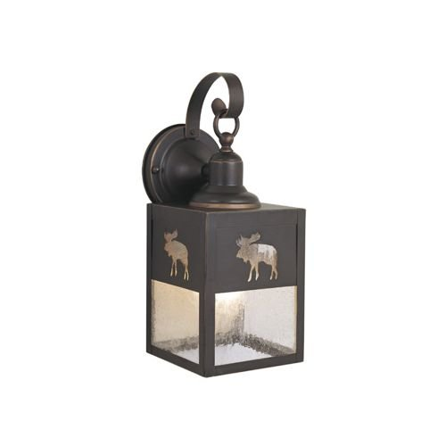 Vaxcel One Light Outdoor Wall Light OW24963BBZ One Light Outdoor Wall Light