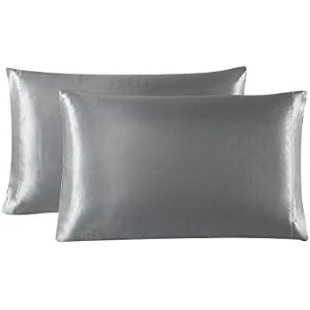 Amazon Com Lanjia Satin Pillowcase For Hair And Skin