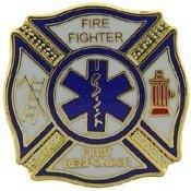 Fire Department Pin - 8