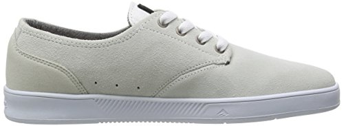 LACED White Sneaker ROMERO Weiß BY LEO Emerica Gum 6102000082 Herren SdwqBg8x