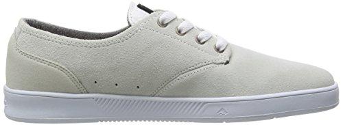 BY ROMERO Gum Weiß Sneaker Herren 6102000082 Emerica LACED LEO White ZqWg61