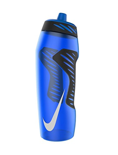Nike Hyperfuel Water Bottle 32oz, Game Royal/Black/White