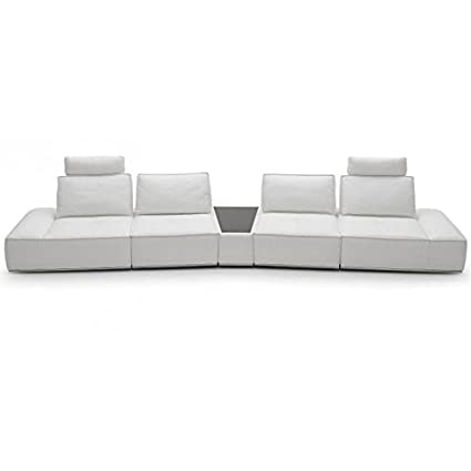 Amazon.com: VIG- Orchid Divani Casa Contemporary White ...