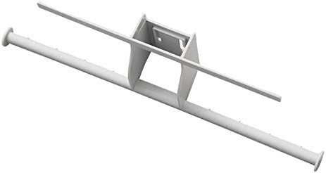 zelfklevende hakenDubbelpolige hanger opslaghaak badkamer balkon wasknijper rek haakgrijs