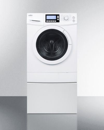 Pedestal to raise height of select washer/dryers for easier accessibility (Summit Washer Dryer)