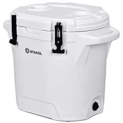 Giantex Heavy Duty Cooler Ice Chest Outdoor Insulated Cooler Fishing Hunting Sports