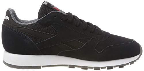 White Herren Schwarz Schwarz Fitnessschuhe NM Leather Black 000 Reebok CL w8dqwP