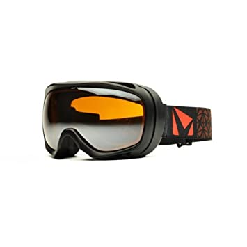 STAGE OTG Goggle with Lens, Black Amber