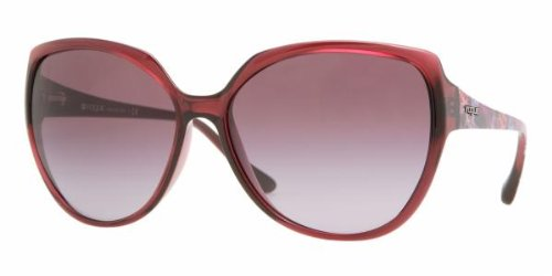 Amazon.com: Vogue VO2668S sunglasses-1754/8H Cyclamen ...