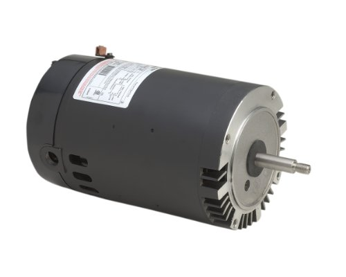 1-1/2 HP, 3450 RPM, 1 Speed, 230/115 Volts, 7.2/14.4 Amps, 1 Service Factor, 56J Frame, PSC, ODP Enclosure, C-Face Pool Motor - A.O. Smith B229SE