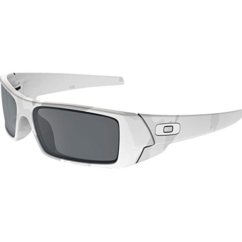 Oakley Men's Gascan Nonpolarized Non-Polarized Iridium Rectangular Sunglasses, SI Multicam Alpine, 60 - White Sunglasses Oakley