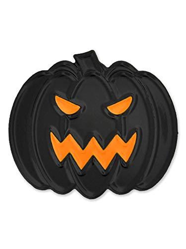 PinMart Evil Jack-O-Lantern Halloween Pumpkin Enamel Lapel Pin -
